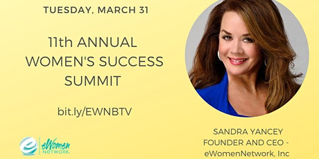 11th Annual Women's Success Summit with Sandra Yancey tickets