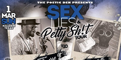 KILLEEN ~ SEX, LIES & PETTY SH!T (COMETRY TOUR)