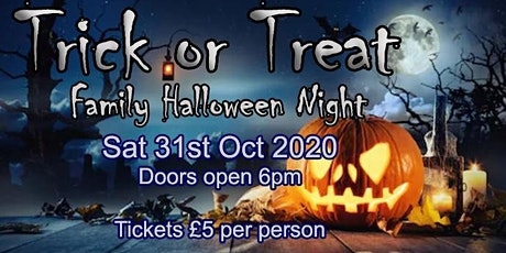 Trick or Treat, Family Halloween Party Night tickets
