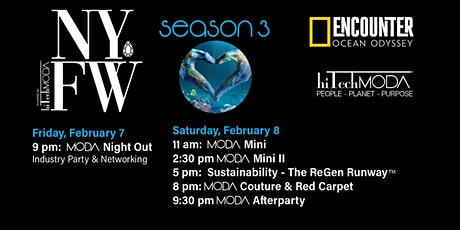 New York Fashion Week/NYFW hiTechMODA Fashion Event tickets