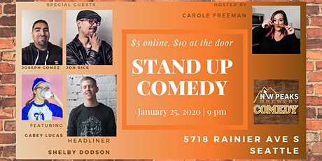Stand Up Comedy Show: January 25th tickets