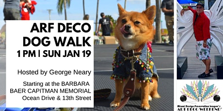 Arf Deco Dog Walk @ Art Deco Weekend 2020 tickets