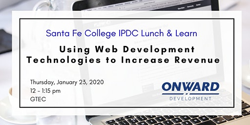 IPDC Lunch & Learn: Using Web Development Technologies to Increase Your Revenue