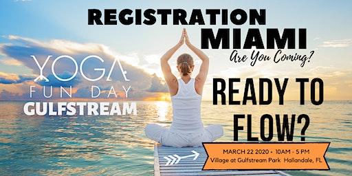 Miami Yoga & Wellness Festival - Yoga Fun Day Gulfstream