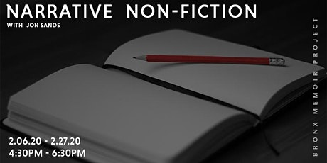 Narrative Non-Fiction [Individual Workshops] tickets