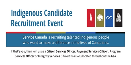 Indigenous Candidate Recruitment Event tickets