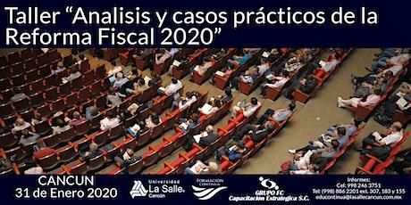 Reforma Fiscal 2020 boletos