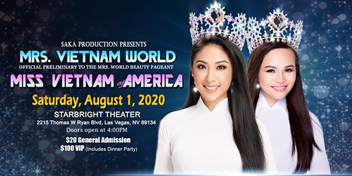 Mrs. Vietnam World and Miss Vietnam of America