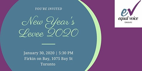 Equal Voice Toronto New Year's Levee tickets