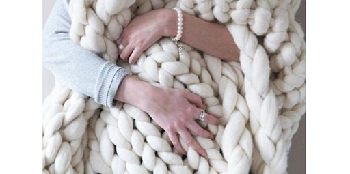 Hand Knit Blanket (01-26-2020 starts at 2:00 PM)