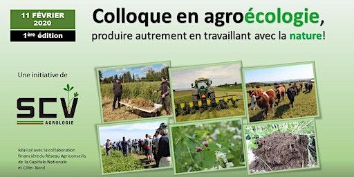 COLLOQUE EN AGROÉCOLOGIE