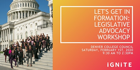 Legislative Advocacy Workshop tickets