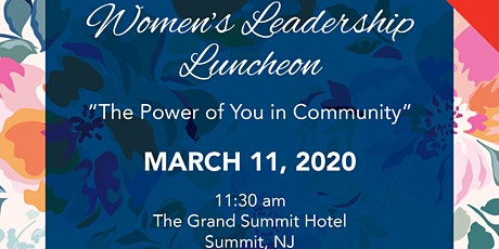Women's Leadership Luncheon: The Power of You in Community tickets