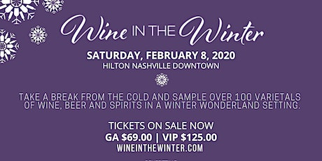 Wine in the Winter 2020 tickets