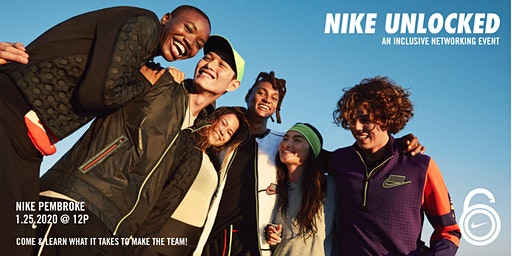 "NIKE UNLOCKED ""A DAY IN THE LIFE"" 1.25"