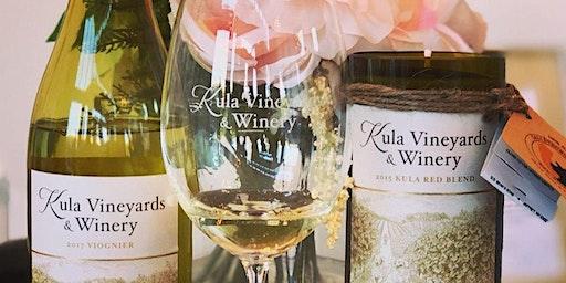 Sip and Wick at Kula Vineyards