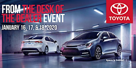 Brantford Toyota: From the Desk of the Dealer Event tickets