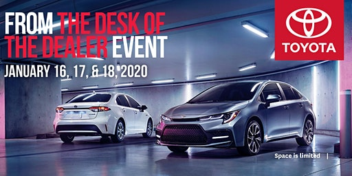 Brantford Toyota: From the Desk of the Dealer Event