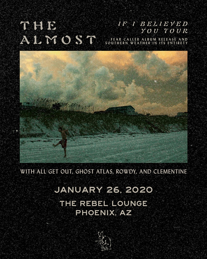 THE ALMOST - If I Believed You Tour 2020 image