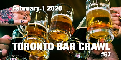Toronto Bar Crawl #57 tickets