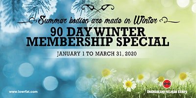 Last Chance!  90 Day Winter Membership (Chicagoland Fat Loss Camps LANSING)