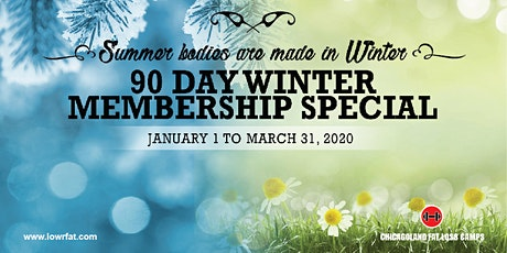 Last Chance!  90 Day Winter Membership (Chicagoland Fat Loss Camps LANSING) tickets