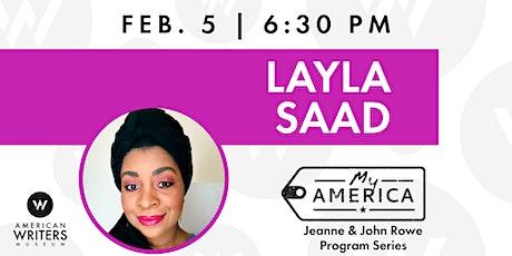 My America: Layla Saad tickets