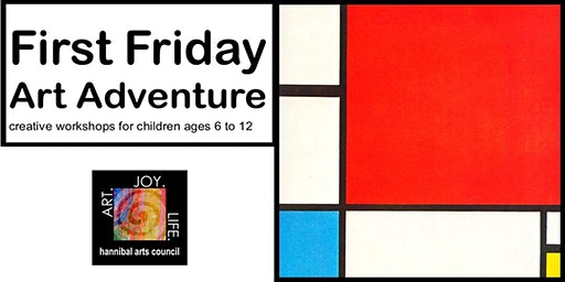 First Friday Art Adventure: Inspired by Mondrian