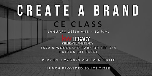 Create A Brand - January CE Class