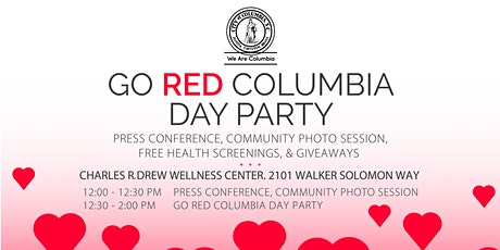 Go Red Columbia 2020 tickets