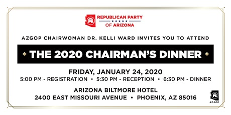 2020 Chairman's Dinner tickets