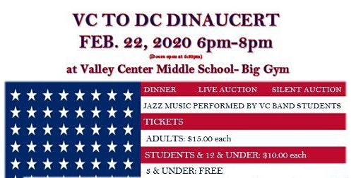 Dinaucert (Dinner, Auction, Concert)