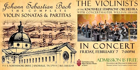 Cathedral Concert: Violinists of the Knoxville Symphony Orchestra tickets