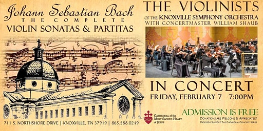 Cathedral Concert: Violinists of the Knoxville Symphony Orchestra