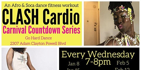 Uptown CLASH Cardio: Carnival Countdown Series tickets