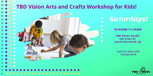 TBD Vision Arts and Crafts Drop-in Workshop for Kids