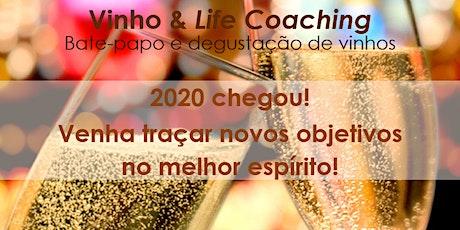 Vinho & Life Coaching: venha traçar novos objetivos  no melhor espírito! ingressos
