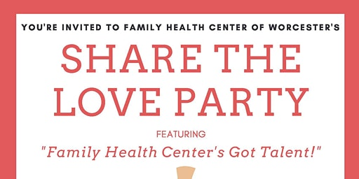 Family Health Center's Share The Love Employee Party