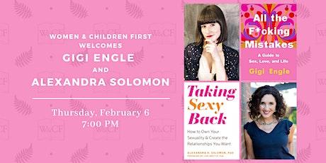 Author Conversation: Dr. Alexandra Solomon & Gigi Engle tickets
