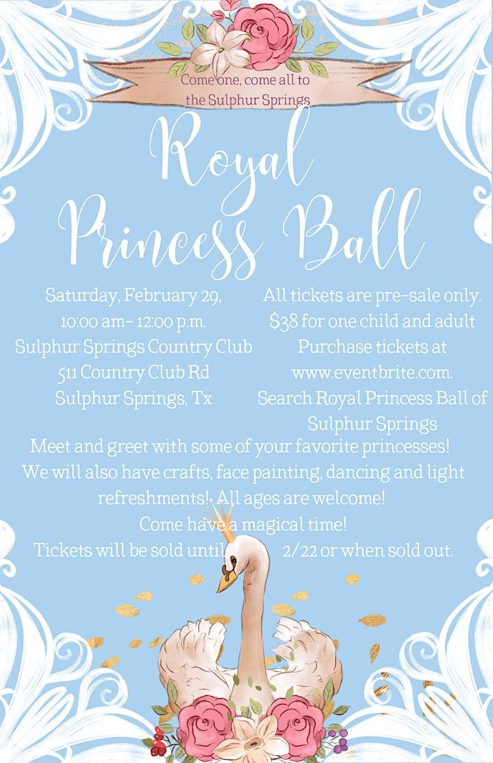 Royal Princess Ball of Sulphur Springs image