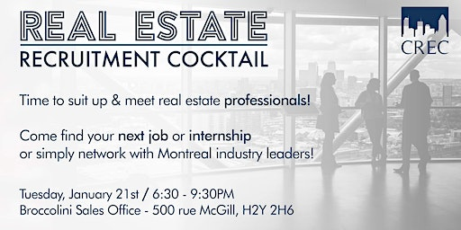 Real Estate Recruitment Cocktail