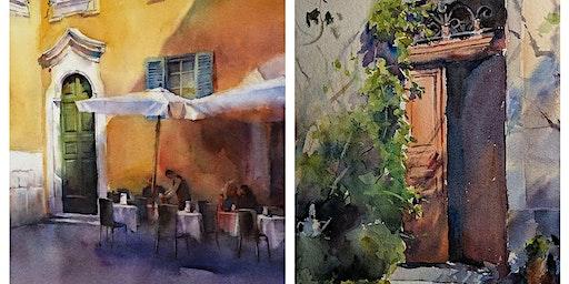 Art Workshop: Atmospheric Watercolors with JJ Jiang