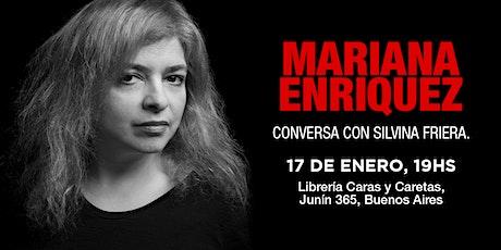 Soci@s P12: Mariana Enriquez conversa con Silvina  entradas