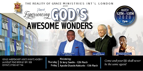 Experiencing God's Awesome Wonders tickets