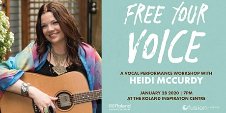 Free Your Voice: Vocal Workshop with Heidi McCurdy tickets