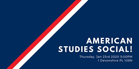 American Studies Social! tickets
