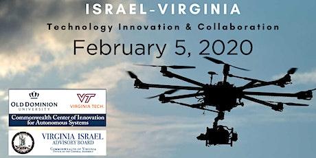 Israeli Unmanned Systems, Naval & Avionics Defense Delegation Event tickets