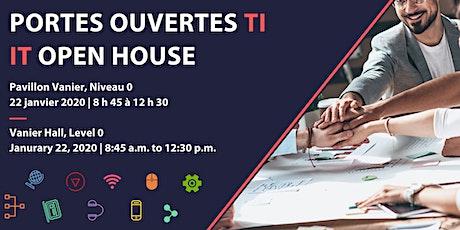 Portes ouvertes TI | IT Open House tickets