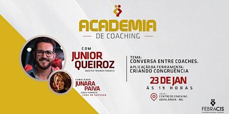 [UBERLÂNDIA/MG] 5° Academia de Coaching Febracis Uberlândia 23/01 ingressos