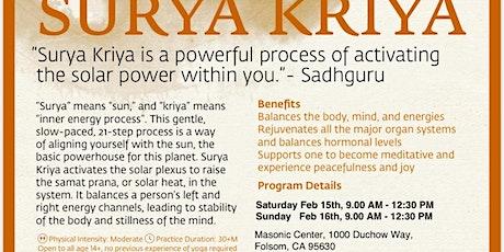 Surya Kriya tickets
